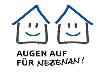 Logo Projekt Augen auf fuer Nebenan