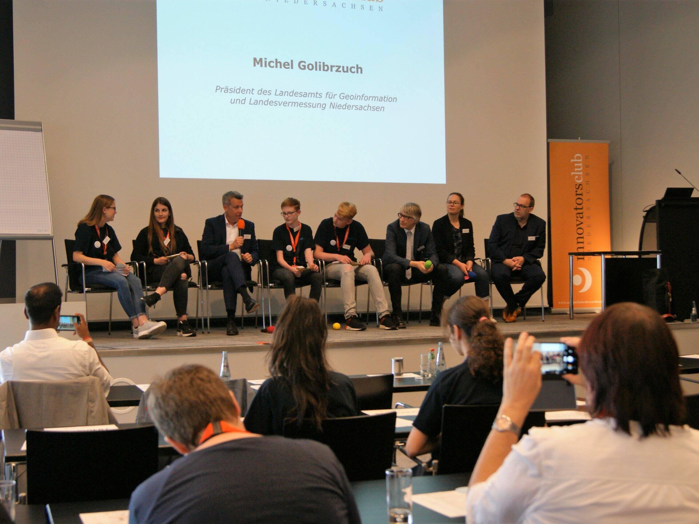 Veranstaltungsbilder innovatorsclub - Podiumsdiskussion